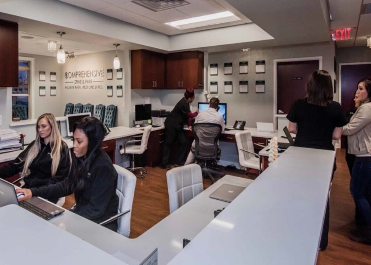 Staff at front Desk